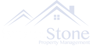 Brookstone Property Management Logo stacked light